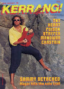 Kerrang Magazine June 25, 1987 Vintage Magazine