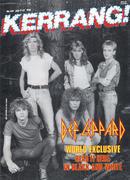 Kerrang Magazine July 9, 1987 Vintage Magazine