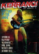 Kerrang Magazine November 14, 1987 Magazine