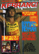Kerrang Magazine October 8, 1988 Vintage Magazine
