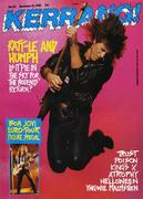 Kerrang Magazine November 12, 1988 Magazine
