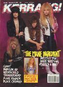 Kerrang Magazine December 9, 1989 Magazine