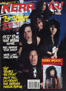 Kerrang Magazine January 13, 1990 Magazine