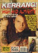 Kerrang Magazine January 20, 1990 Magazine