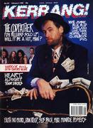 Kerrang Magazine February 3, 1990 Magazine