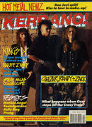 Kerrang Magazine March 31, 1990 Magazine