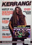 Kerrang Magazine April 7, 1990 Magazine
