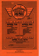 California World Music Festival Handbill