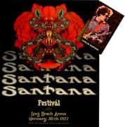 Santana Poster/Postcard Bundle