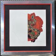 Santana Framed Original Art