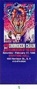 Unbroken Chain Vintage Ticket