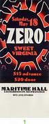 Zero Vintage Ticket