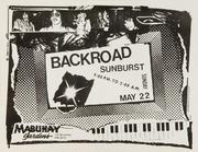 Backroad Handbill
