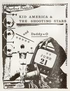 Kid America & the Shooting Stars Handbill