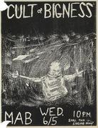Cult of Bigness Handbill