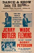 Jerry Butler Poster