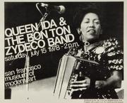Queen Ida & The Bon Temps Zydeco Handbill