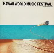 Hawaii World Music Festival Program