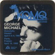 George Michael Backstage Pass
