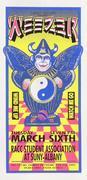 Weezer Handbill