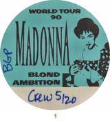 Madonna Backstage Pass