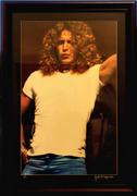 Robert Plant Framed Vintage Print