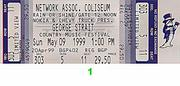 George Strait Vintage Ticket