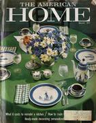 The American Home Magazine March 1960 Magazine