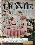 The American Home Magazine April 1959 Magazine