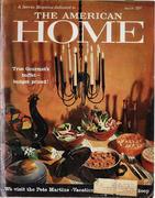 The American Home Magazine March 1959 Magazine