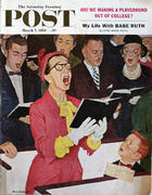The Saturday Evening Post March 7, 1959 Magazine
