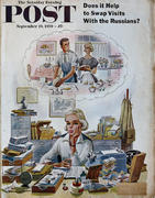 The Saturday Evening Post September 19, 1959 Magazine