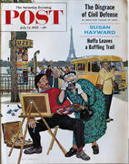 The Saturday Evening Post July 11, 1959 Magazine