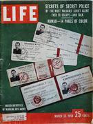 LIFE Magazine March 23, 1959 Magazine