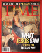 Time Magazine April 16, 2001 Magazine