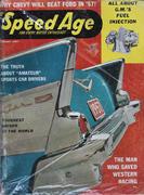 Speed Age Magazine January 1957 Magazine