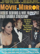 Movie Mirror Magazine August 1974 Magazine