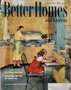 Better Homes And Gardens Magazine February 1955 Magazine