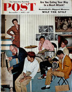 The Saturday Evening Post December 1, 1956 Magazine
