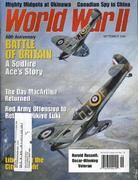 World War II Magazine September 2000 Magazine