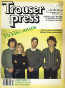 Trouser Press Magazine April 1982 Magazine