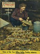 American Poultry Magazine February 1945 Magazine