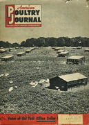 American Poultry Magazine May 1952 Magazine