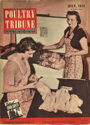 Poultry Tribune Magazine July 1951 Magazine
