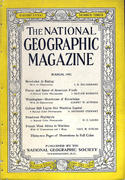 National Geographic March 1942 Magazine