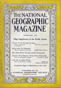National Geographic February 1942 Magazine