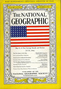 National Geographic July 1942 Magazine
