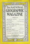 National Geographic August 1942 Magazine