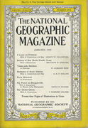 National Geographic January 1945 Magazine