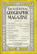 National Geographic January 1945 Magazine